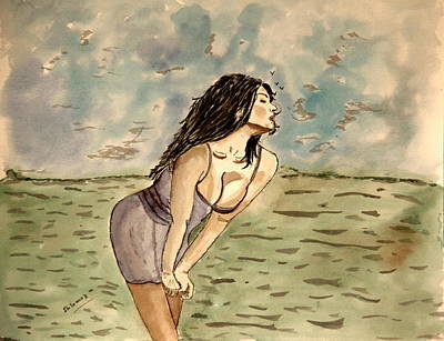 Zina Passion Art Print