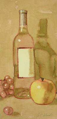 Painting - Zinfandel One by Joe Schneider