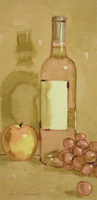 Painting - Zinfandel Two by Joe Schneider