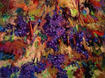 Zin Painting - Zinfest by R W Goetting