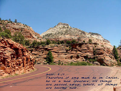 Zion 2cor 5-17 Print by Nelson Skinner