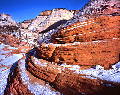 Photograph - Zion Beehives In Winter by Ray Mathis