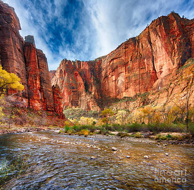 Photograph - Zion by Beth Sargent