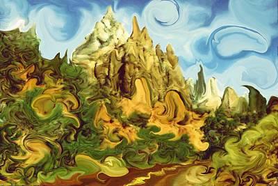 Painting - Bizarre 103 - Modern Art by Art America Gallery Peter Potter