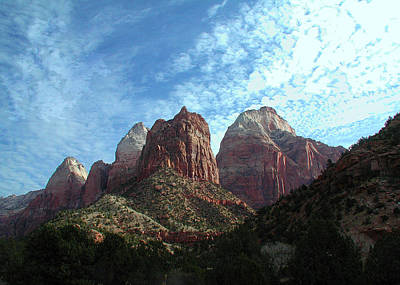 Photograph - Zion by Carl Bandy