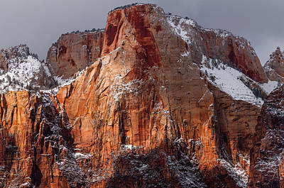 Photograph - Zion by Chuck Jason