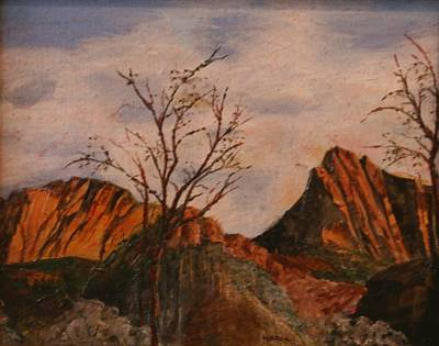 Painting - Zion Gate by Marilyn Brown