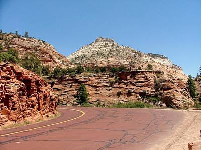 Zion National Park Mixed Media - Zion N P 6 by Nelson Skinner