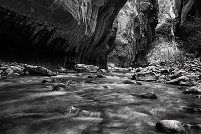 Zion National Park Photograph - Zion Narrows by Andrew Soundarajan