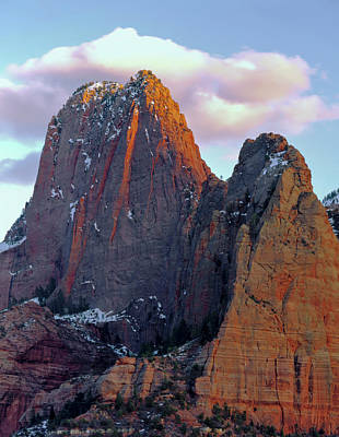 Zion National Park , Utah Art Print by Scott T. Smith