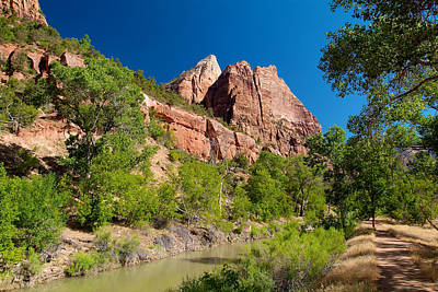 Photograph - Zion National Park 2 by Richard J Cassato