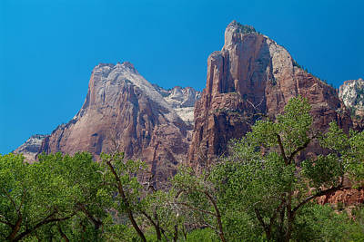 Photograph - Zion National Park 22 by Richard J Cassato