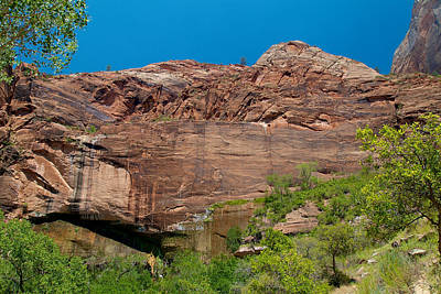 Photograph - Zion National Park 26 by Richard J Cassato