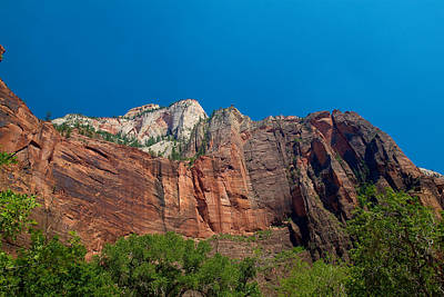 Photograph - Zion National Park 31 by Richard J Cassato