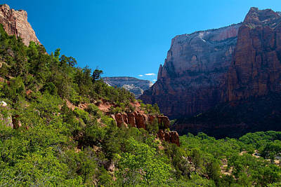 Photograph - Zion National Park 5 by Richard J Cassato
