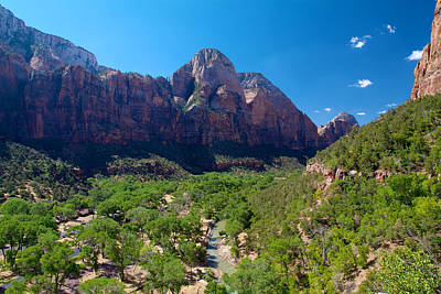 Photograph - Zion National Park 6 by Richard J Cassato