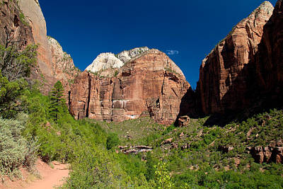 Photograph - Zion National Park 8 by Richard J Cassato