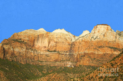 Photograph - Zion National Park by David Millenheft