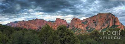 Zion National Park Digital Art - Zion National Park Panorama by Eddie Yerkish
