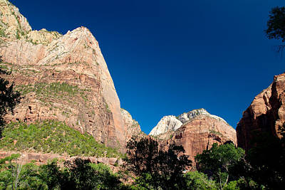 Photograph - Zion National Park by Richard J Cassato