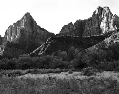 Cslanec Photograph - Zion Np Utah by Christian Slanec