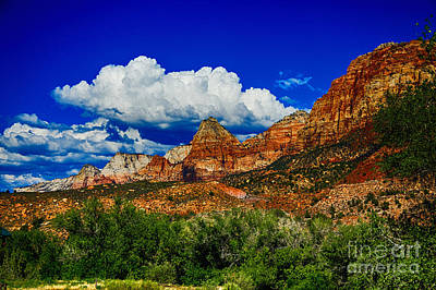Photograph - Zion Range by Rick Bragan