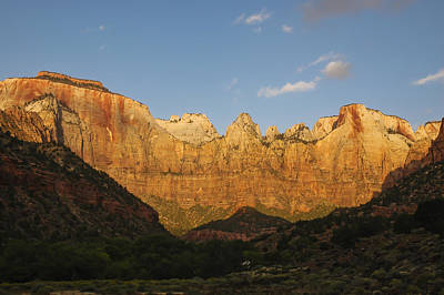 Photograph - Zion Sunrise by Lee Kirchhevel