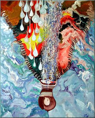 Zipper Painting - Zipper by Daniel Janda
