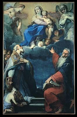 Seraphim Angel Photograph - Zoboli Giacomo, Madonna And Child by Everett