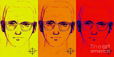 Zodiac Killer Three With Sign 20130213 Art Print