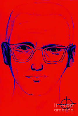 Zodiac Killer With Sign 20130213m128 Art Print