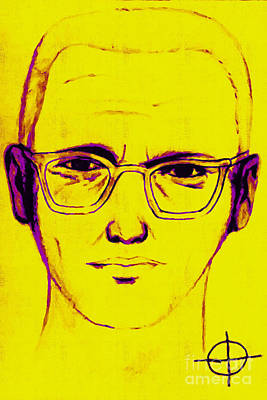 Zodiac Killer With Sign 20130213m68 Art Print
