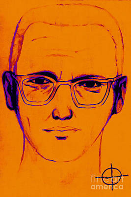 Zodiac Killer With Sign 20130213m98 Art Print