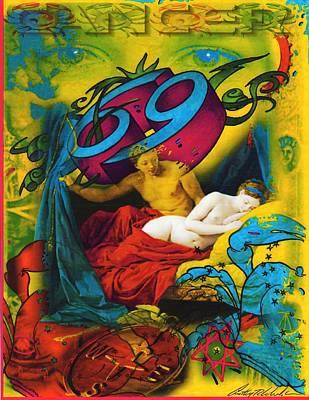 Zodiac Painting - Zodiac Series  by Anthony Whelihan
