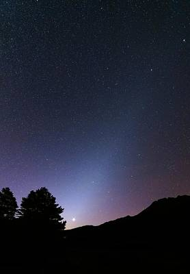 July 2013 Photograph - Zodiacal Light And Venus by Luis Argerich