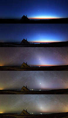 Chapelle Photograph - Zodiacal Light by Laurent Laveder