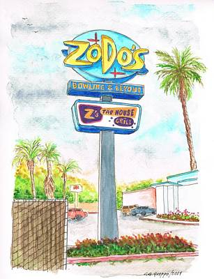 Pittsburgh According To Ron Magnes - Zodos Bowling and Beyond in Goleta Beach, California by Carlos G Groppa