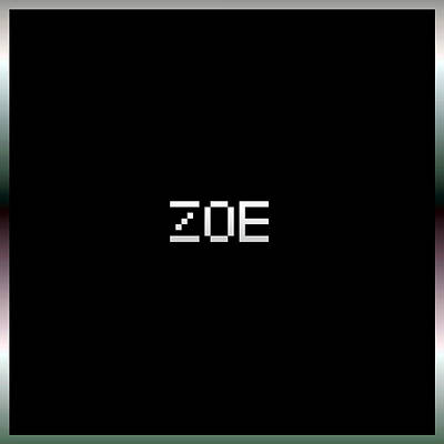 Girl Digital Art - Zoe.1.2 by Gareth Lewis