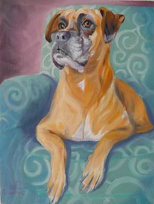 Painting - Zoey by Sharon Casavant