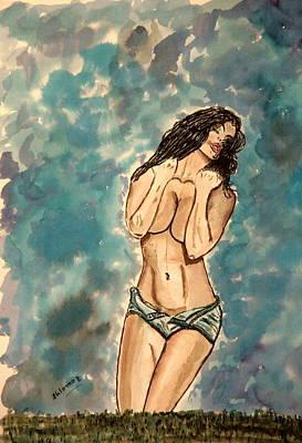 Zoie Passion Art Print
