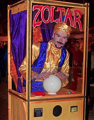 Comedian Drawings - Zoltar 0001 by Jeff Stallard