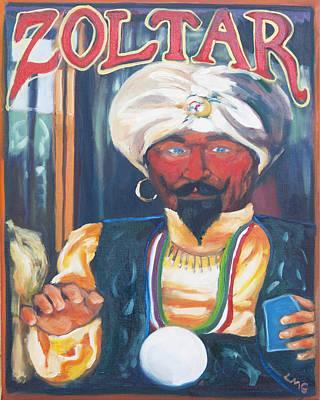 Zoltar Art Print by Lisa Goldfarb