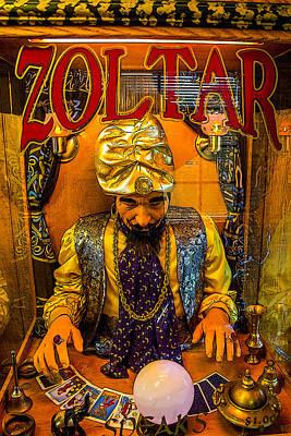 Zoltar Speaks Art Print by Robert Storost