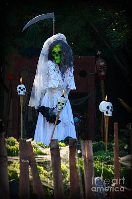 Photograph - Zombie Bride by Patrick Witz