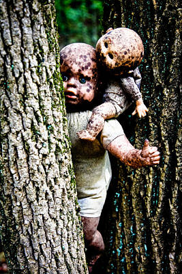 Photograph - Zombie Dolls by Shelly Stallings