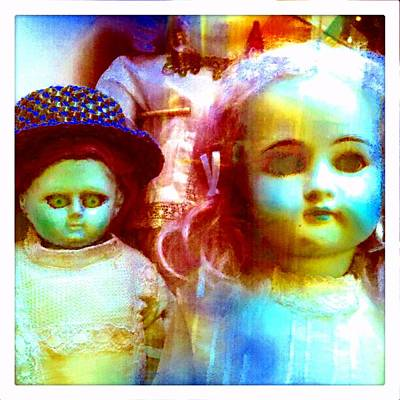 Photograph - Zombie Dolls - Toy Dreams 3 by Marianne Dow