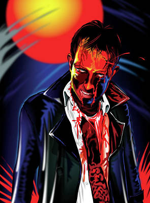 Zombie Rezurrection Art Print by Brian Gibbs