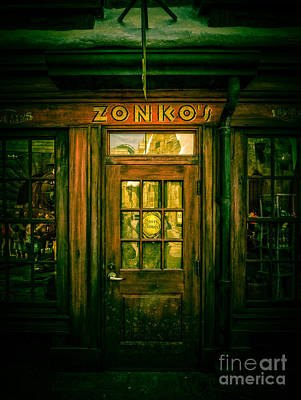 Zonkos Joke Shop Hogsmeade 2 Art Print by Edward Fielding