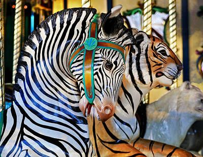 Zoo Animals 2 Art Print by Marty Koch