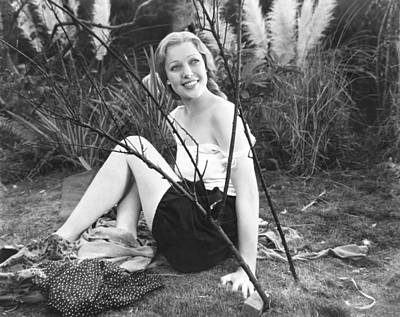 Zoo In Budapest, Loretta Young, 1933 Print by Everett